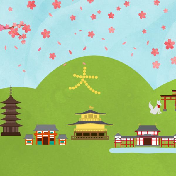 京都メインビジュアル用イラスト